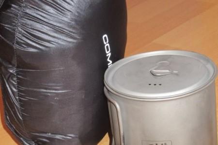 Esbit Titantopf 750 ml – die (ultra-)leichte Küche für Unterwegs