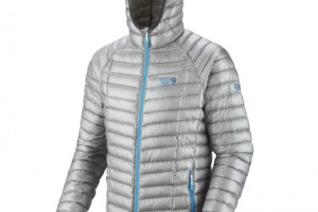 Mountain Hardwear Ghost Whisperer ( Hooded) Down Jacket – Ultraleichte Daunenjacke für Grammjäger