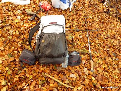 Laufbursche huckePäckchen – Ein paar Eindrücke vom SUL-Rucksack aus Cuben