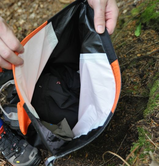 Einkammer-Packsack mit Rollverschluss