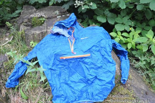 Review zur Montane Minimus Smock